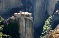 4 Manastirea Roussanou - Grecia