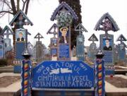 7. Cimitirul Vesel de la Săpânța este unic în lume
