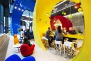 Amenajare: campusul Google din Dublin, o nouă definiţie a lucrului la birou