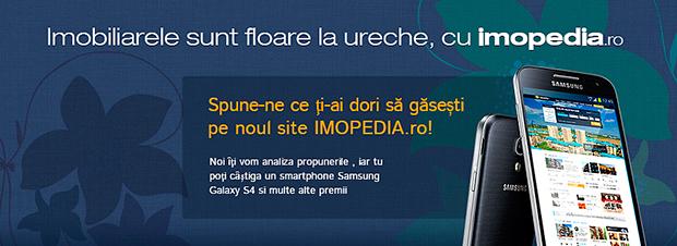 Concursul IMOPEDIA.ro – premiile se diversifică de la o zi la alta