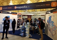 """IMOPEDIA.ro prezintă """"Harta proprietăţilor care contează"""", la standul nr. 1 din cadrul TNI"""