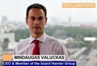 Mindaugas Valuckas, CEO Hanner Group