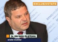 Radu Ion Zilișteanu, analist imobiliar și profesor dr. în economie.