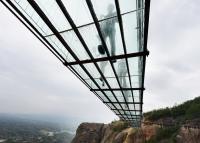 Pod de sticlă de mare lungime, inaugurat în China: priveliștea este amețitoare, de la 180 ...