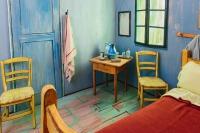 De pe pânză, în realitate: dormitorul lui Van Gogh, oferit spre închiriere