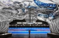 Rețeaua de metrou din Stockholm, cea mai lungă galerie de artă din lume