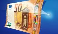 BCE prezintă noua bancnotă de 50 de euro și anunță scăderea falsificărilor