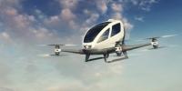 Taxiurile zburătoare fără șofer vor putea fi chemate la comandă din vară