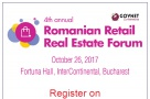 Romanian Retail Real Estate Forum, 4th edition